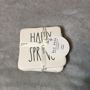 HAPPY SPRING Rae Dunn Coasters